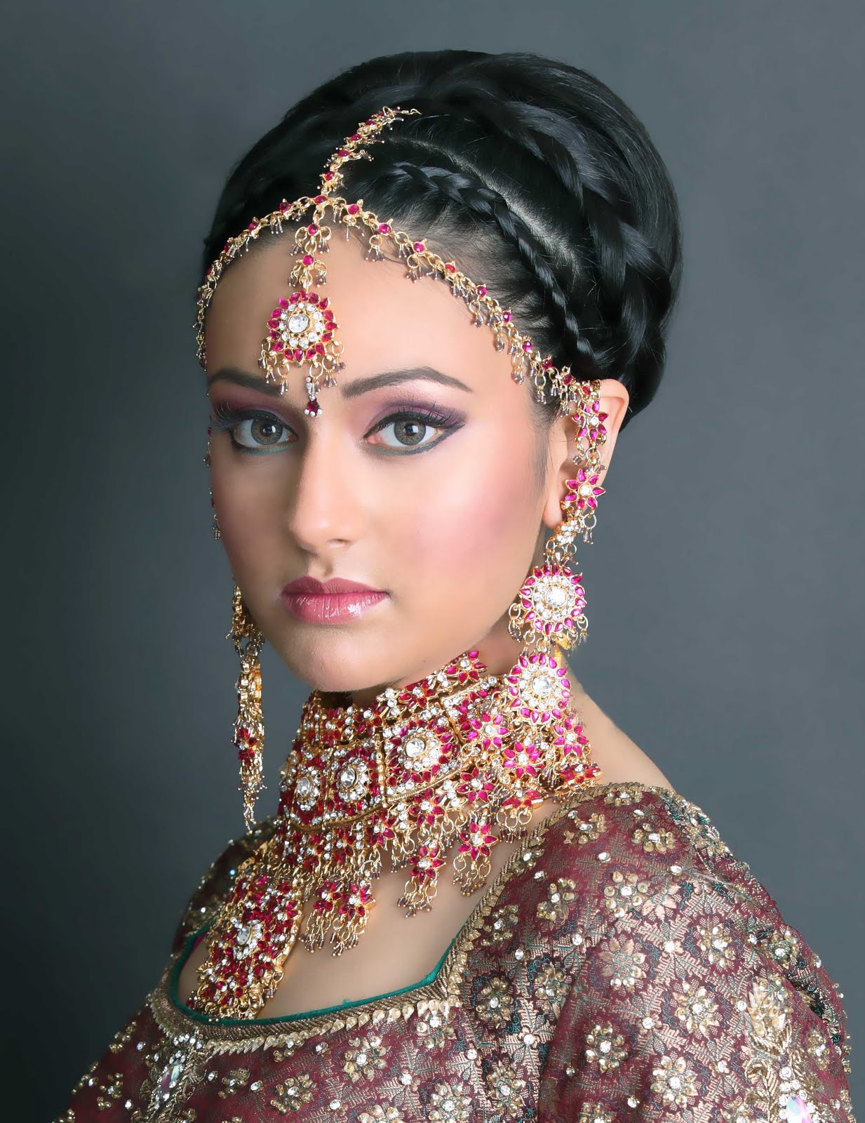 Cute Indian Wedding Hair Style For Women With Images Of Wedding