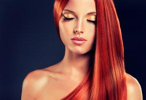Long Straight Hair Colour