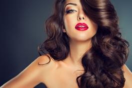 Hair Model Long Curly