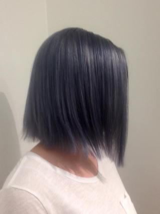 pic colour and bob cut